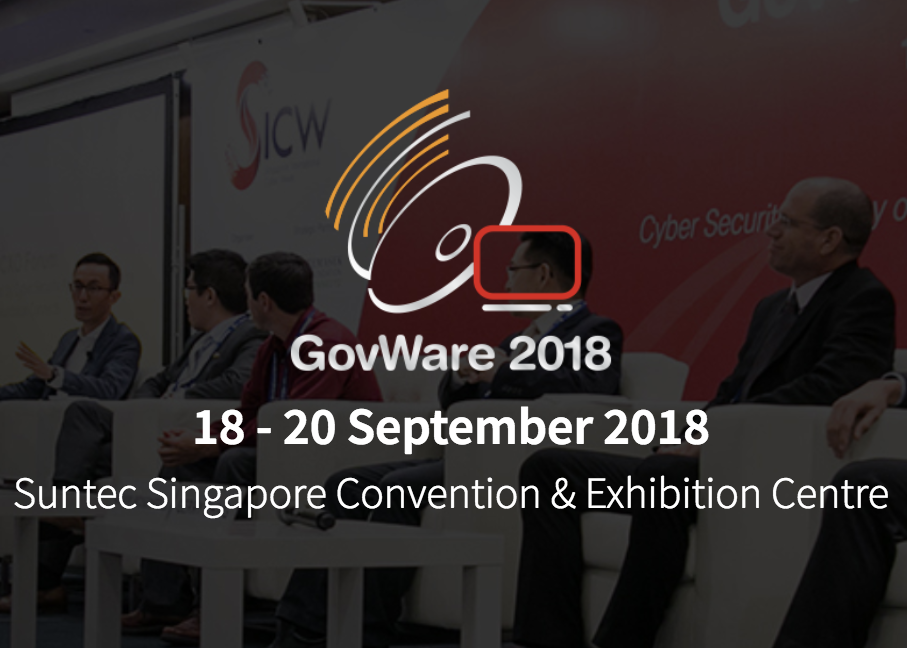 SendForensics showcasing at GovWare 2018